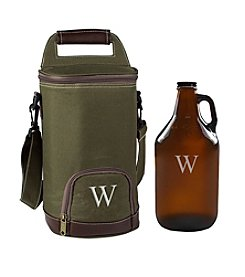 Cathy's Concepts Personalized Insulated Growler Cooler with 64-oz. Amber Growler