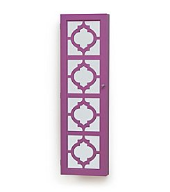 InnerSpace Luxury Products Designer Jewelry Armoire with Decorative Front