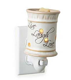 Candle Warmers Etc. Live, Laugh, Love Pluggable Fragrance Warmer