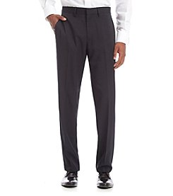 Kenneth Cole REACTION® Men's Striped Flat Front Dress Pants