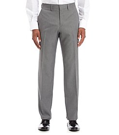 Kenneth Cole REACTION® Men's Twill Flat Front Dress Pants