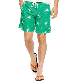 Polo Ralph Lauren® Men's Swordfish-Print Captiva Swim Trunks