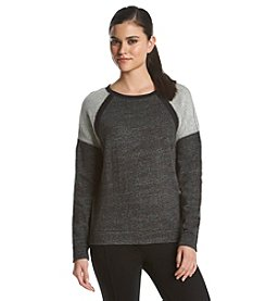 Calvin Klein Performance Rib Trim Sweatshirt