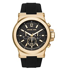 Michael Kors® Men's Goldtone and Black Dylan Watch