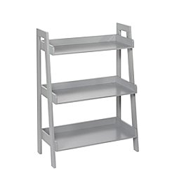 RiverRidge® Kids Grey 3-Tier Ladder Shelf