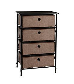 RiverRidge® Home Brown Sort & Store 4-Bin Organizer