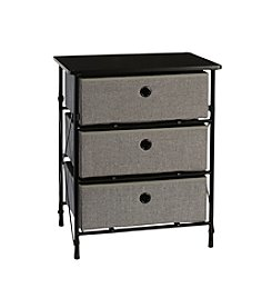 RiverRidge® Home Grey Sort & Store 3-Bin Organizer
