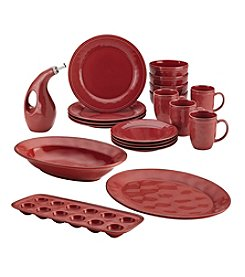 Rachael Ray® Cucina 20-Pc. Cranberry Red Dining Set