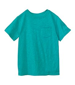 Mix & Match Boys' 2T-7 Short Sleeve Solid Pocket Tee