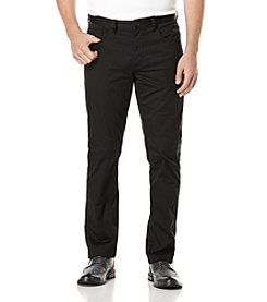 Perry Ellis® Men's Piece Dye Stretch Satin Pants