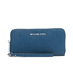 MICHAEL Michael Kors® Jet Set Travel Large Saffiano Leather Smartphone Wristlet