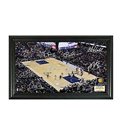 Highland Mint NBA® Indiana Pacers Signature Court Framed Photo