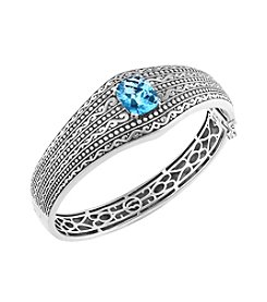Effy® 925 Sterling Silver Blue Topaz Bangle