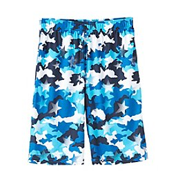 Mambo® Boys' 8-20 Allover Print Mesh Shorts