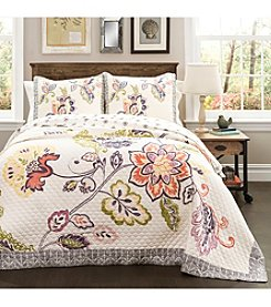 Lush Decor Aster 3-pc. Quilt Set