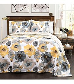 Lush Decor Leah 3-pc. Quilt Set