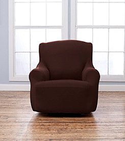 Home Fashions Lucia Corduroy Chair Slipcover