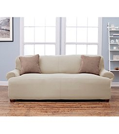 Home Fashions Lucia Corduroy Loveseat or Sofa Slipcover