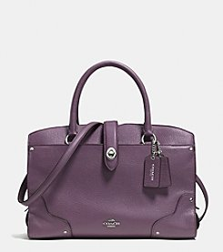 COACH MERCER SATCHEL 30 IN GRAIN LEATHER