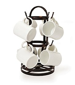 Gourmet Basics by Mikasa Rotating 8-Mug tree