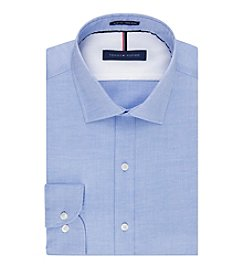 Tommy Hilfiger® Men's Slim Fit Spread Collar Dress Shirt