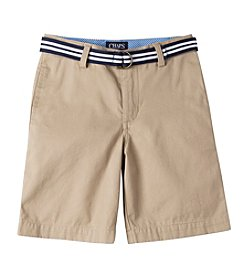 Chaps® Boys' 2T-7 Woven Shorts With Belt
