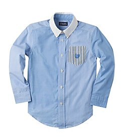 Chaps® Boys' 2T-20 Long Sleeve Party Woven Shirt