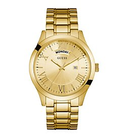 Guess Men's Goldtone Classic Dress Watch