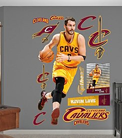 NBA® Cleveland Cavaliers Kevin® Love - No. 0 by Fathead®