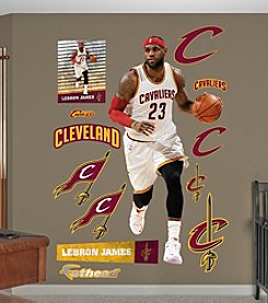 Fathead® NBA® Cleveland Cavaliers LeBron James Wall Decals
