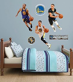 Fathead® NBA® Golden State Warriors Stephen Curry Hero Wall Decals