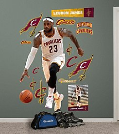 Fathead® NBA® Cleveland Cavaliers LeBron James Forward Wall Decals