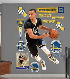 Fathead® NBA® Golden State Warriors Stephen Curry Wall Decals