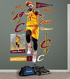 Fathead® NBA® Cleveland Cavaliers LeBron James Dunk Wall Decal