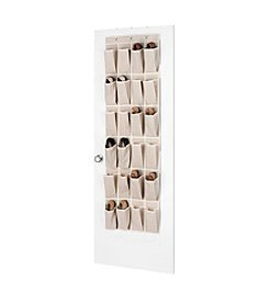 Whitmor® Linen Over-The-Door Shoe Organizer