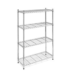Whitmor® 4-Tier Chrome Supreme Shelving