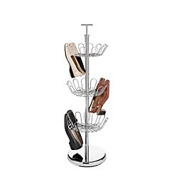 Whitmor® 18-pr. Chrome Revolving Shoe Rack