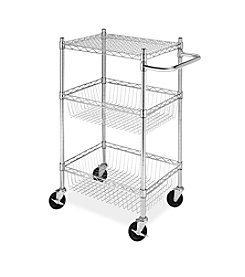Whitmor 3-Tier Commercial Basket Cart