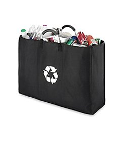 Whitmor® Black Recycle Triple Sorter Bag