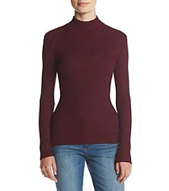It's Our Time® Mockneck Ribbed Top