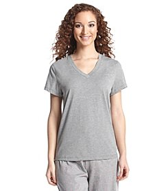 HUE® V Neck Pajama Top