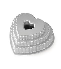 Nordic Ware® Tiered Heart Bundt Pan