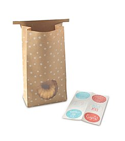 Nordic Ware® 6-ct. Paper Gift Bags with Stickers