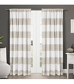 Exclusive Home Set of 2 Darma Window Curtain Panels
