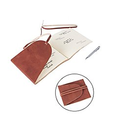 Cathy's Concepts Personalized Leather Guestbook Journal