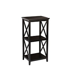 RiverRidge® Espresso X-Frame Collection 3-Shelf Storage Tower