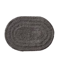LivingQuarters Reversible Cotton Bath Rug