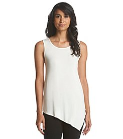 Ruff Hewn GREY Asymmetric Tank Top