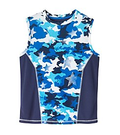 Mambo® Boys' 8-20 Star Camo Printed Muscle Tee