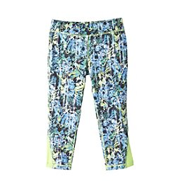 Mambo® Girls' 7-16 Botanical Cropped Leggings